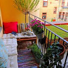 Collection in Small Apartment Patio Decorating Ideas Ideas
