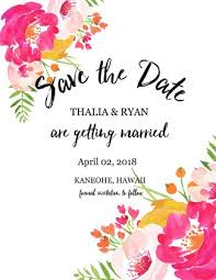 Blank Save The Date Cards Save The Dates