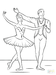 Coloring Pages Ballet Ballet Dancer Coloring Pages Ballet Coloring