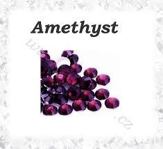 Broušené Kamínky Amethyst Ss16 100ks