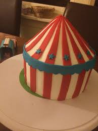 How To Make A Tent How To Make A Circus Cake