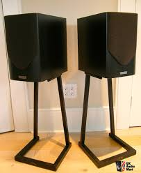 mission m32 speakers and target speaker stands
