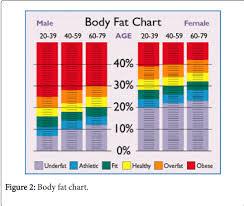 Body Fat And Weight Chart Bismi Margarethaydon Com