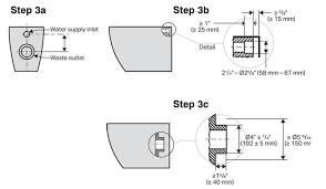 floor mount toilet bowl dimensions check