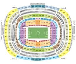 Fedexfield Seating Chart Section Row Seat Number Info