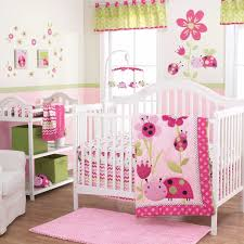 bedding sets belle image lil ladybug 3 piece baby crib bedding set by belle