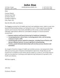 Cover Letter Examples For Healthcare Jobs Cover Letter Sample For