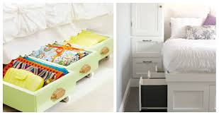 how to make the most of small bedroom storage thegoodstuff