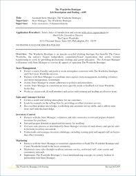 Visual Merchandising Job Description For Resume Igniteresumes Com