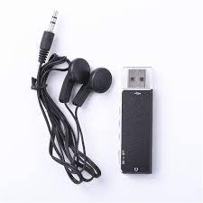 Mini Usb Kaydedici 13 Saat Yalnız Dijital Ses Kayıt Cihazı