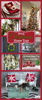 Atta Girl Says 2013 Christmas Home Tour U0026 Holiday Decorating Ideas