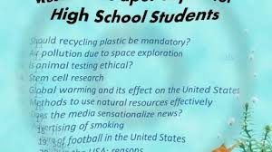 high school research paper topics for high school students   high school 21 persuasive essay topics for high school persuasive essays for