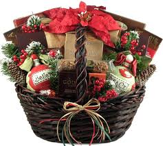 Large Christmas gift basket
