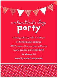 valentines party invitations valentine party invitations red valentines day party invitation card