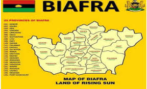 Image result for Biafra map