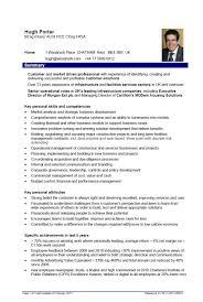 Gallery Of Resume Templates Engineering
