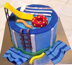 Pool Party Cake Kay Cake Designs
