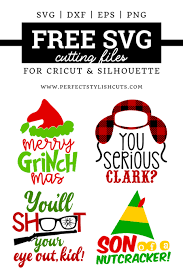 Lots of free cricut designs and images. Free Christmas Movie Svg Bundle Perfectstylishcuts Free Svg Cut Files For Cricut And Silhouette Cutting Machines