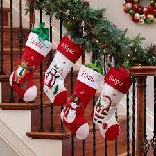 Personalized Holiday Christmas Stocking