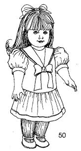 Small Picture American Girl Doll Coloring Pages Samantha Printable Coloring Sheets