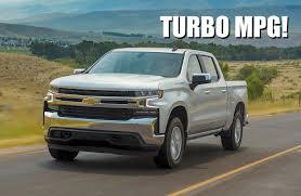2019 Chevy Silverado 1500 4-Cylinder Turbo Gets EPA Fuel Economy ...