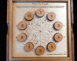 Wooden Math Games Logic wooden game Etsy 35