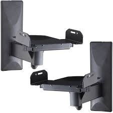 wall mounted pivoting speaker stands for various width bookshelf speakers for in pekin il offerup
