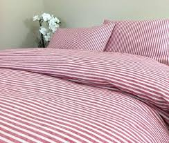 pink striped bedding interesting red and white striped duvet cover natural linen custom size ticking stripe pink striped bedding
