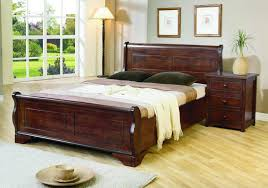 Joseph Louis 5ft Kingsize Wooden Bed Frame by UK Bed Store