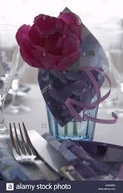 Napkin In Glass Design Table Dishes Champagne Glass Plates Napkin Silverware Tulip