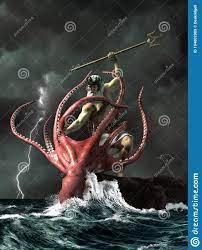 Poseidon vs. the Kraken stock ...