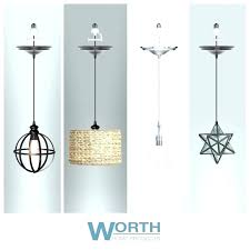 charming plug in hanging lamps swag 46 light pendant fixtures home depot ceiling curtains