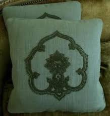 high end pillows. Exellent Pillows Image Is Loading HighEndEmbroideredLinenFabricCustomDesignerThrow Intended High End Pillows L