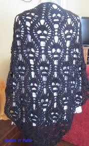 Skull Crochet Pattern Delectable All Skulls Shawl Smiles 'n' Purls