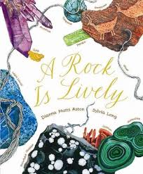 rock is lively book by dianna aston sylvia long find this pin and more on nonfiction