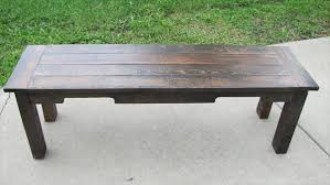 recycled pallet rustic bench reclaimed pallet outdoor bench
