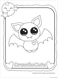 Bat Pictures To Color Vampire Bat Halloween Bat Coloring Page