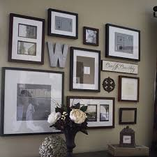 inspiring idea picture frame wall elegant design 25 photo creations that will make your house a hit wallpaper collage clock ideas