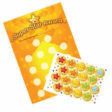 Reward Chart A3 Super Star Award Reward Chart And 18 Stickers