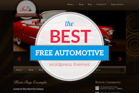 14 Free Automotive Wordpress Themes For Car Dealers 2019