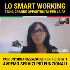 Fabiana Dadone - Smart working grande opportunità per la PA