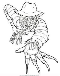 Disegno Freddykrueger1 Misti Da Colorare