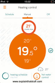 how do thermostats work explain that stuff hive allows you to control your home heating using a smartphone app