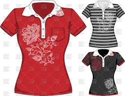 shirt design templates womens t shirt design templates with floral pattern vector