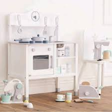 Childrens Wooden Kitchen Furniture White Wooden Play Kitchen Gifts For Children Cuckooland