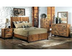 Recycled Bedroom Furniture This Rustic Reclaimed Wood Bedroom ...