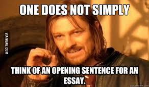 essay writing  gag
