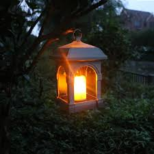 decorative solar lighting. Waterproof LED Solar Powered Candle Lantern With Amber Luminaria Lamp  Outdoor Decorative Light Umbrella Decorative Solar Lighting
