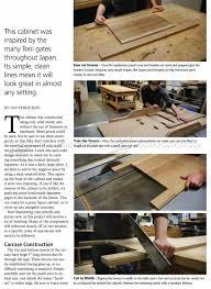 japanese furniture plans. Japanese Cabinet Plans Furniture F