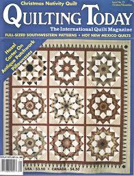 Cheap Quilt Magazine Patterns, find Quilt Magazine Patterns deals ... & Get Quotations · QUILTING TODAY Magazine October/November 1990 Issue No. 21  (The International Quilt Magazine Adamdwight.com